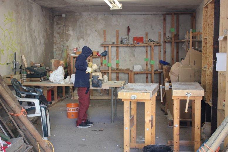 Holz- und Steinwerkstatt