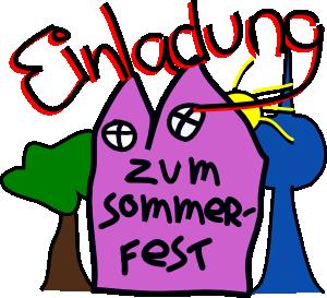 Sommerfest-Einladung FSP
