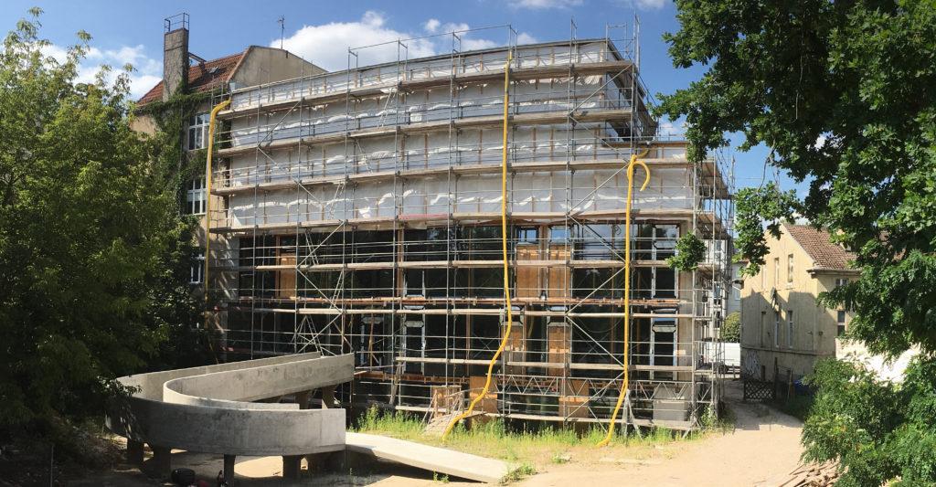 Baustelle FSP Grabbeallee